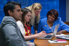 Ambassador Johnson Cook Participates in a Facebook Chat
