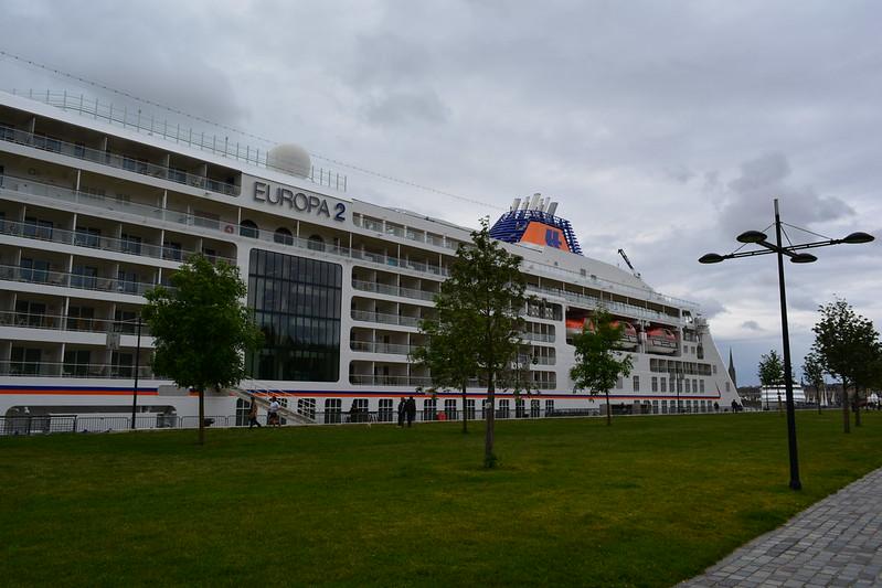 Visite du MS EUROPA 2 - Bordeaux - 20 mai 2013
