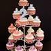 Hallie's tutu cupcake tower by abbietabbie
