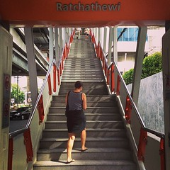 Stairway to heaven. @mlleapr #bangkok #travel #love #train