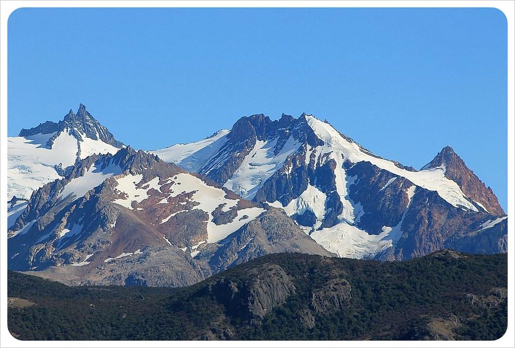 el chalten mountaintops