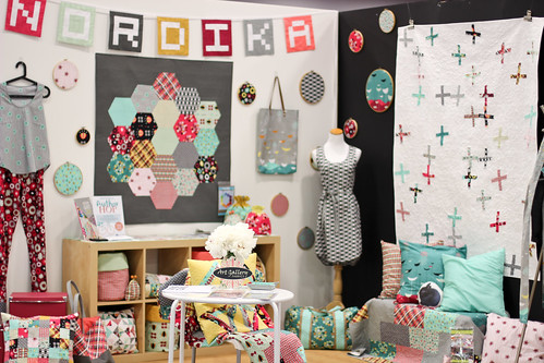 Quilt Market - Jeni Baker's Booth by Jeni Baker
