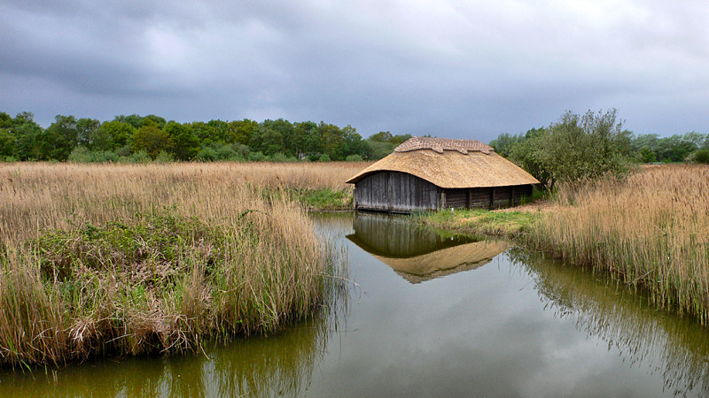 Boathouse on Hickling Broad