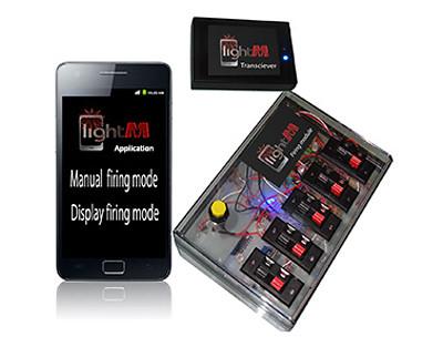LinghtM Consumer Fireworks Firing System