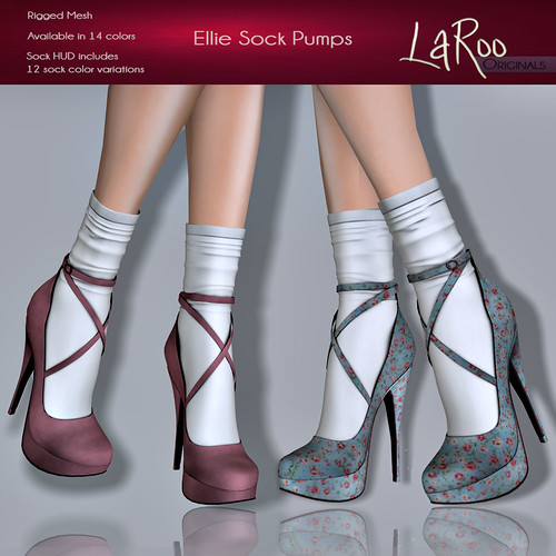 LaRoo - Ellie Sock Pumps