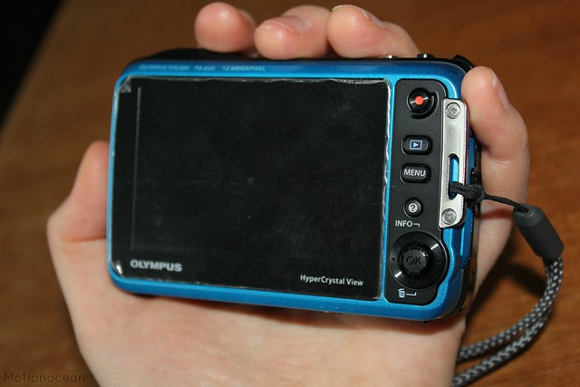 Olympus Tough TG-620 back