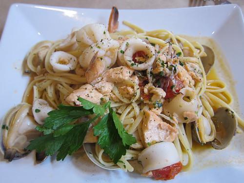 AcquaPazza, San Mateo, Seafood linguine, ca… IMG_4675