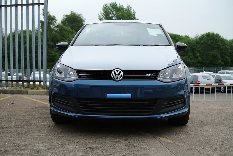 vw polo blue gt