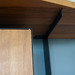 Mary Lou's Reclaimed Oak and Steel Shelving
