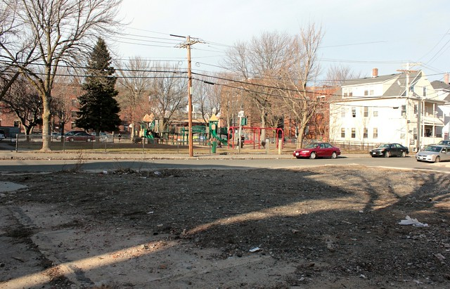 Contested Space: An Empty Lot in Salem, Mass.