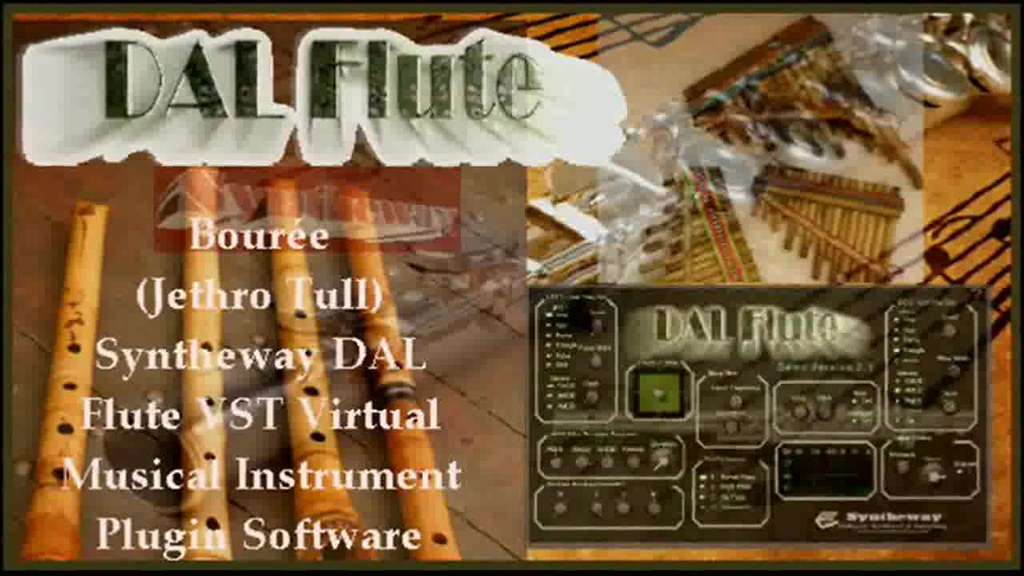 Bourée (Jethro Tull / Ian Anderson) Syntheway Virtual Flute