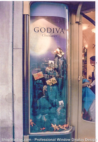 Holiday Window Display Design Godiva NYC