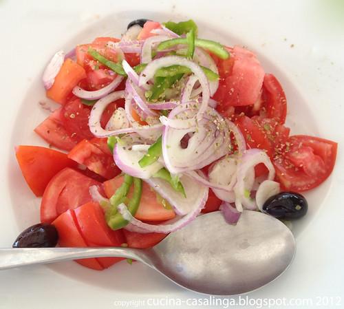 Restaurant Faros - Tomatensalat