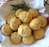 Cheddar Cheese and Rosemary Biscuits
