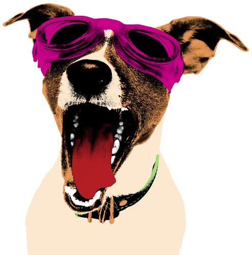 TGIFringe! Dog Mascot