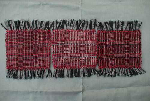 Weaving project 31: Panels 4, 5 and 6