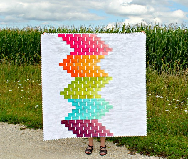 Ombre Love | A Finished Quilt