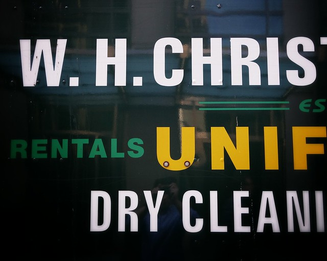 Dry cleaning type #walkingtoworktoday