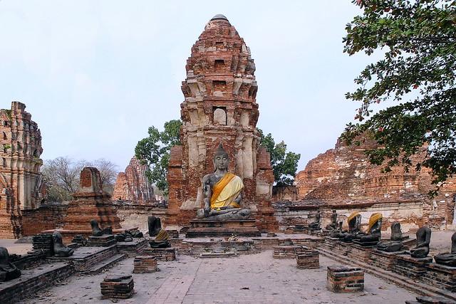 Thailand - Ayutthaya - Wat Mahathat 6