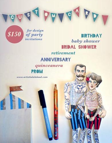 custom party invitation