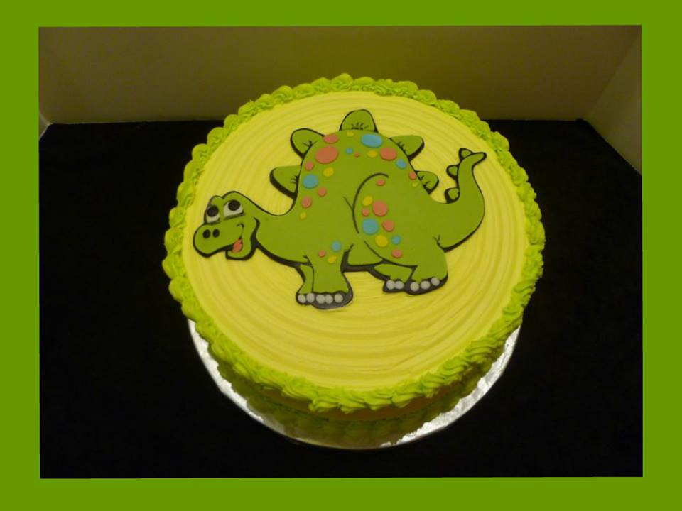 Surprising Dinosaur Cake By Yvonne Twin Cities Mn Birthdaycake Flickr Funny Birthday Cards Online Elaedamsfinfo