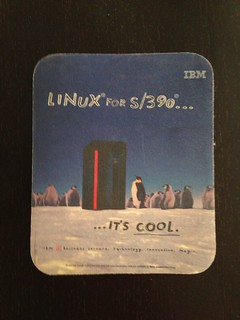 Linux for S/390 mouse pad