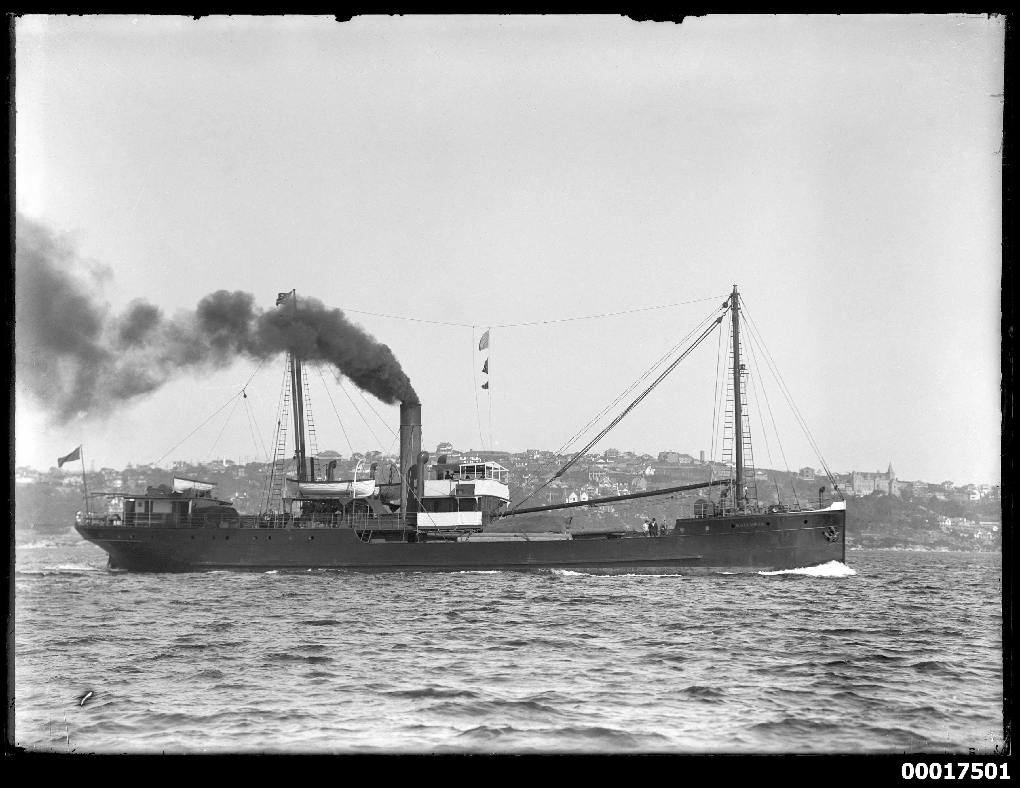 Coastal steamer MAIANBAR