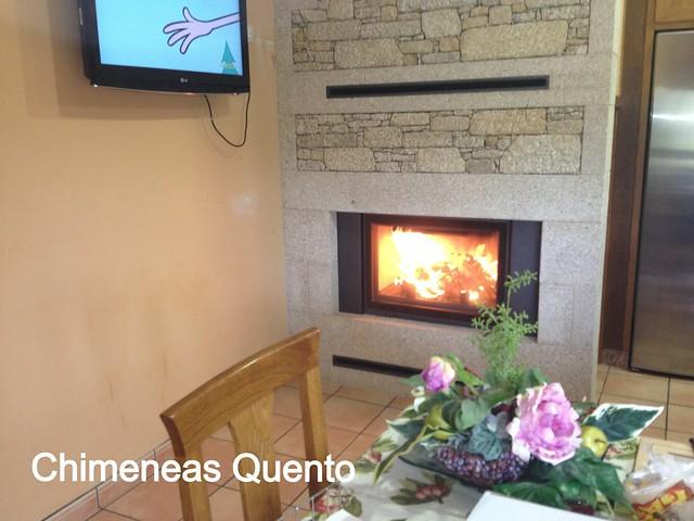 Chimenea quento modelo erreira con hogar hp 700 flickr photo sharing - Chimeneas lugo ...