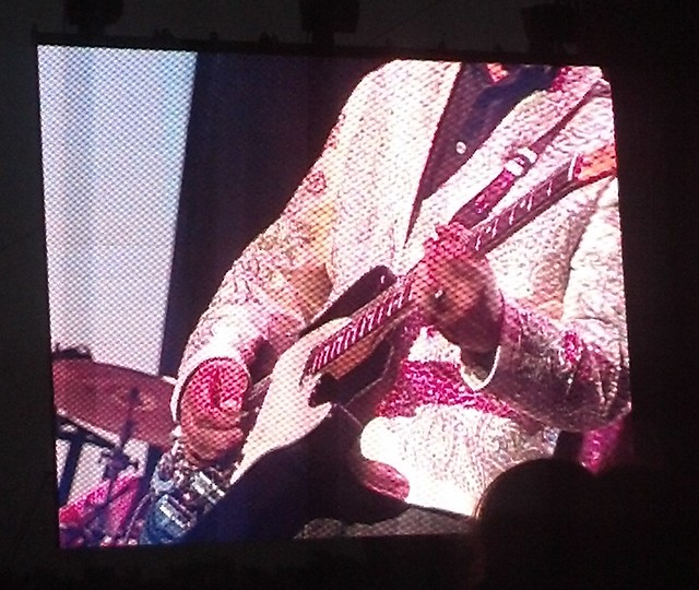 Eugene Edwards at Dwight Yoakam show, 2013 MN State Fair