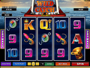Wild Catch Slot Machine