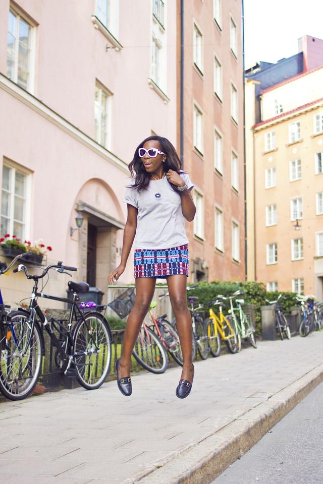 fashion blogger in Stockholm