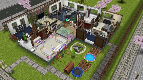 Player Designed Home Sims Freeplay | Blog Native