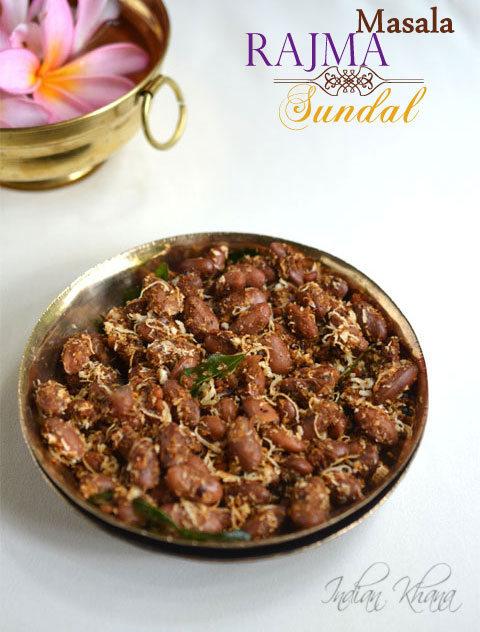 Rajma Masala Sundal