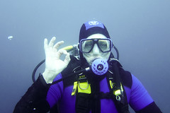 underwater diving, sports, scuba diving, extreme sport, diving equipment, blue,