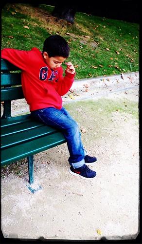 Park Bench Blues by Paris Set Me Free