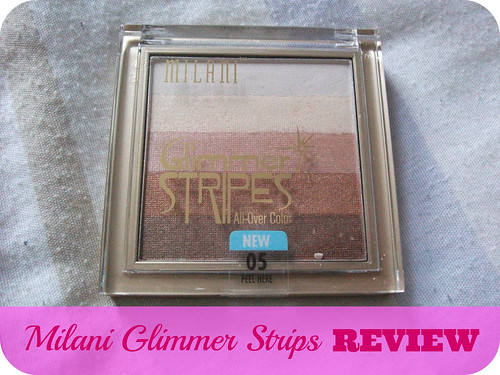 Milani Glimmer Strips Review