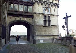 Image de Het Steen près de Antwerpen. castle belgium antwerp mozillasummit mozsummit