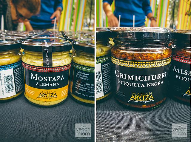 Vegan at Buenos Aires Market