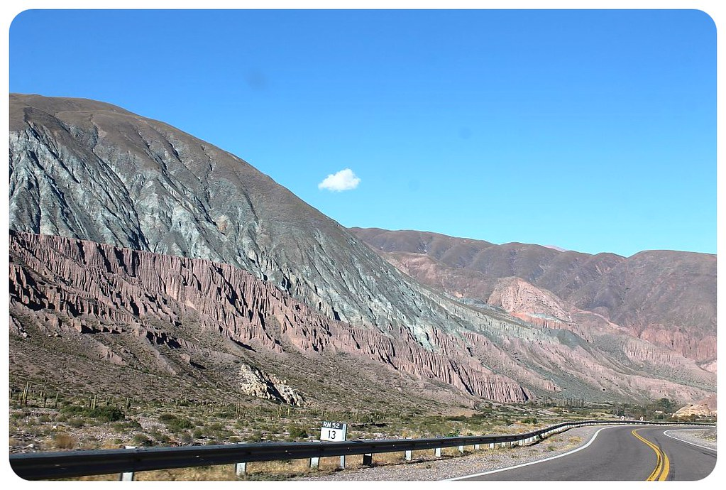 argentina andes mountain road