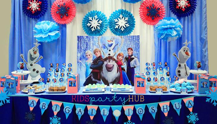 Disney Frozen Birthday Party Manila