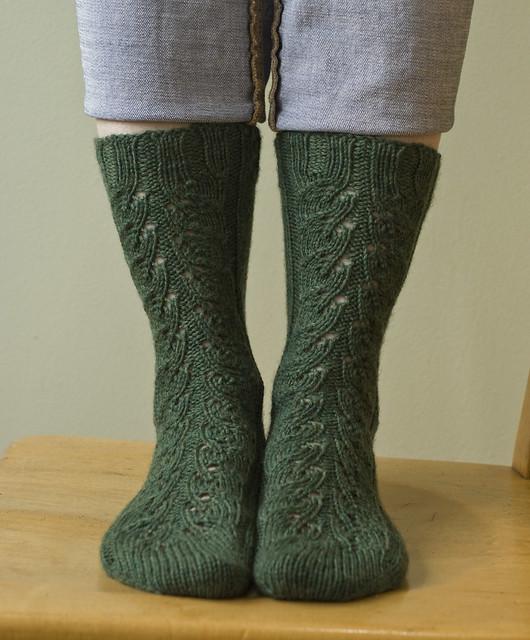 Spinach Socks