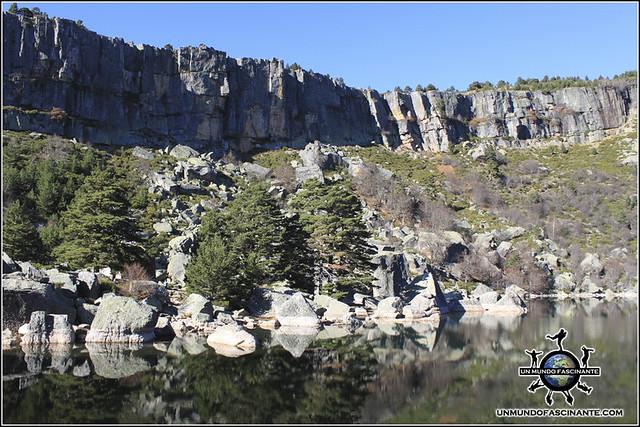 La Laguna Negra del P.N. Laguna Negra y Circos Glaciares de Urbión, Soria. España.