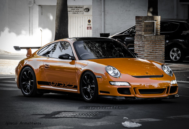 Porsche 911 GT3 RS (997). Puerto Banús