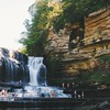 visited this nifty place a month ago with jess  #cumminsfalls #cookeville #tennessee
