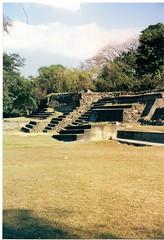 Tazumal Pyramids