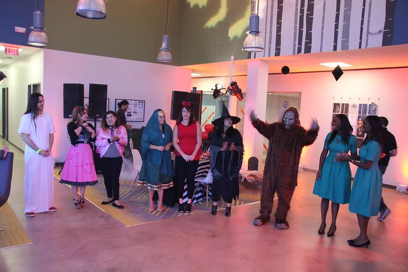Halloween Party at 2855 Mangum 2016