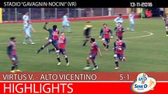Virtus V.-Alto Vicentino del 13-11-16