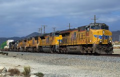 Eastbound Union Pacific at Cabazon