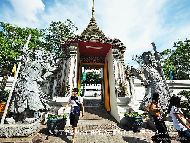 臥佛寺 泰國曼谷 自由行 必去景點 推薦 16