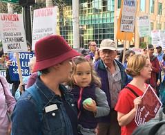 No DAPL demonstration, Oakland, 11/10/2016